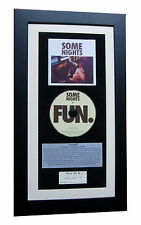FUN Some Nights CLASSIC CD Album GALLERY QUALITY FRAMED+EXPRESS GLOBAL SHIP