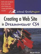 Creating a Web Site in Dreamweaver CS4: Visual QuickProject Guide-ExLibrary