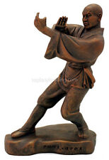 """Kungfu Series - Shaolin Monk 4 of 4 Statues Sculpted by a Shaolin Monk 9"""" High"""