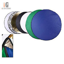 "Photography Photo 42"" 7-in-1 Light Mulit Collapsible disc Reflector 110cm"