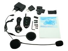 100 meters 2-way Intercom FM Radio HM-508 Motocycle Bluetooth Helmet Headset