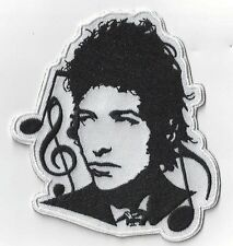BOB DYLAN large 10cms x 9.5 cms  IRON ON PATCH  buy 2 get another of these  free