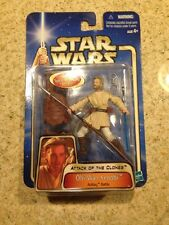 Star Wars Action Figure Attack Of The Clones Obi-Wan Kenobi Acklay Battle