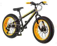 Mongoose Bike 20 inch Boys Fat Tire Bikes Massif 7-Speed Boy Mountain Bicycles