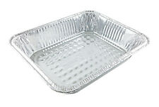 Handi-Foil 1/2 Half-Size Deep Aluminum Steam Table Pan 100/PK  -Disposable Trays