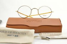�� Virgil G New Authentic Oliver Peoples Round EYEGLASSES FRAME Japan 44-22-143