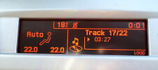 Peugeot 407 Citroen C5 RD4 Display LCD Schermo Quadrante Genuino & Originale