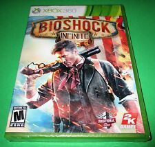 BioShock Infinite Microsoft Xbox 360 *Factory Sealed! *Free Shipping!