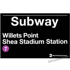 Shea Stadium Subway Magnet Souvenir from NYC Online Gift Store