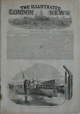 Nov. 12, 1853 ILLUSTRATED LONDON NEWS Complete Arctic Map Ireland Turkey Russia