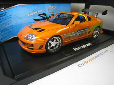 TOYOTA SUPRA FAST AND FURIOUS BRIAN 1/18 JADA TOYS