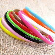 10Pcs Girls Hair Head Hoop Fancy Band Headband Hair Accessory Random Color HJ57