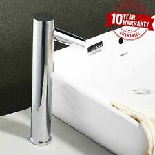 Infrared Sensor Activated Wash Basin Monobloc Wash Basin Mixer Tap Chrome *6
