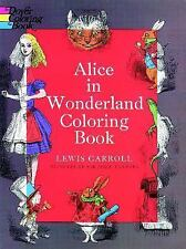 Dover Classic Stories Coloring Book: Alice in Wonderland Coloring Book by...