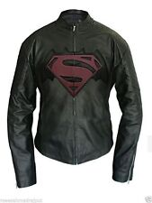 Men's Faux Celebrity Leather Jacket Batman Vs Superman 2016 Dawn of Justice