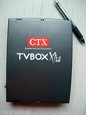 Used CTX MT001 TV BOX Xtra External TV Tuner, VGA Interface TV Signal In, S-Vid
