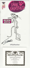 Only 50 Made! Pink Panther #1 Sketch Variant Comic Cover Art SIGNED SA Check COA