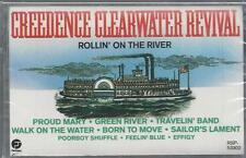 CREEDENCE CLEARWATER REVIVAL ROLLIN' ON THE RIVER PROUD MARY NEW CASSETTE TAPE