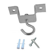 ARD CHAMPS™ Punch Bag Ceiling Hanging Hook Silver Metal With Screws & Plugs