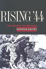 Rising '44 : The Battle for Warsaw by Norman Davies (2004, NEW 1st Ed Hardcover)