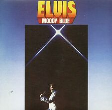 CD Elvis PRESLEY Moody Blue (1977) - Mini LP REPLICA - 19-track CARD SLEEVE