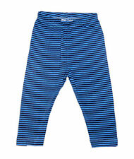 Oshkosh Printed Fitted Leggings for Baby Girl Blue Stripe  Size 18months