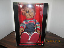 "Bride of Chucky Memorabilia: 2015 24"" Animated Talking Chucky Doll Halloween NEW"