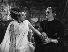 Boris Karloff and Elsa Lanchester photo - C902 - The Bride of Frankenstein