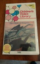 The Flight of Dragons Animated Adv. Clam Shell Edition VHS SCARCE 1984 Edition