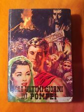 LIBRO EDWARD BULWER - GLI ULTIMI GIORNI DI POMPEI IV EDIZIONE - PAOLINE 1962