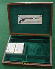 ANTIQUE CASE FOR A COLT SAA REVOLVER PISTOL GUN (5.5 Barrel).
