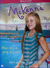 American Girl McKenna Doll of 2012 POSTER GYMNAST 18x24 in-Store only new