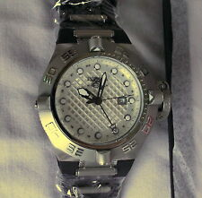 Invicta 1154 Men's Subaqua Noma IV GMT White Dial Diver New In Box