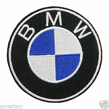 BMW Logo Embroidered Iron On Patch #PBW011