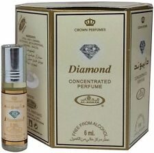 Box of 6 Diamond 6ml by Al Rehab Concentrated Oil Floral Musky Woody Amber