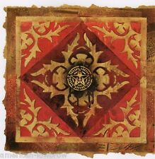 Obey Giant Shepard Fairey Art Poster Print Star OBEY Quilt Stencil Lotus War