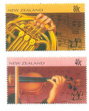 New Zealand-Music-Violin-French Horn mnh (2006-7)