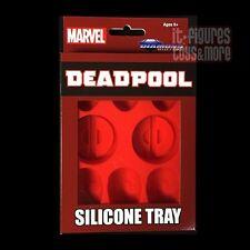 Marvel Comics DEADPOOL Silicone ICE CUBE TRAY Marvel Comics DIAMOND SELECT Toys!