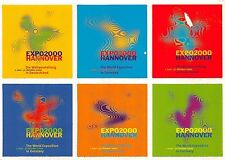 BG10550 expo 2000 the world exposition sticker  hannover  germany