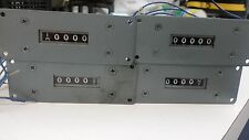 Lot of 4 Durant Counter Model 5-Y-8602-MF BR