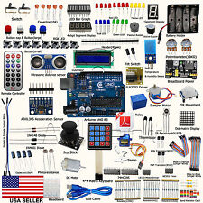 New Ultimate UNO R3 Starter Kit for Arduino LCD1602 Servo Motor Processing PDF