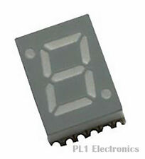 AVAGO TECHNOLOGIES    HDSM-281C    7-Segment LED Display, Surface Mount, 1, 7 mm