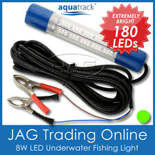 12V~24V 180 LED GREEN UNDERWATER FISHING BOAT LIGHT WATERPROOF -Fish/Squid/Prawn