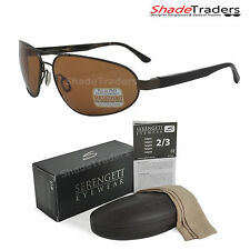 SERENGETI MONZA SUNGLASSES POLARIZED PHOTOCHROMIC PhD DRIVERS SATIN BROWN 7794