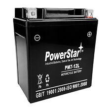 AGM YTX7L-BS Battery for Honda NX125 NX250 CMX250C Rebel CB600F CB250 Nighthawk