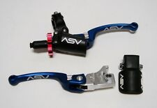 ASV BLUE C6 Brake & Pro Clutch Levers Kit Yamaha Raptor 700 09 10 11 12 13 14 15