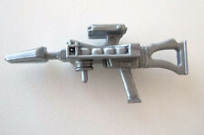 Techno-Viper v1~ Silver LASER RIFLE~ Gi Joe Parts~ Vintage 1987   Hasbro~