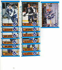 1X TORONTO MAPLE LEAFS1989-90 opc COMPLETE TEAM SET NMMT O Pee Chee Lots Availab