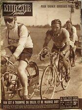 Miroir sprint n°208 - 1950 - Maurice Diot - Bordeaux Paris - Van Est - Aoul Remy