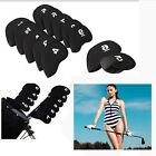 10pcs Golf Club Iron Headcover Head Cover Protector Putter Set Neoprene Sport